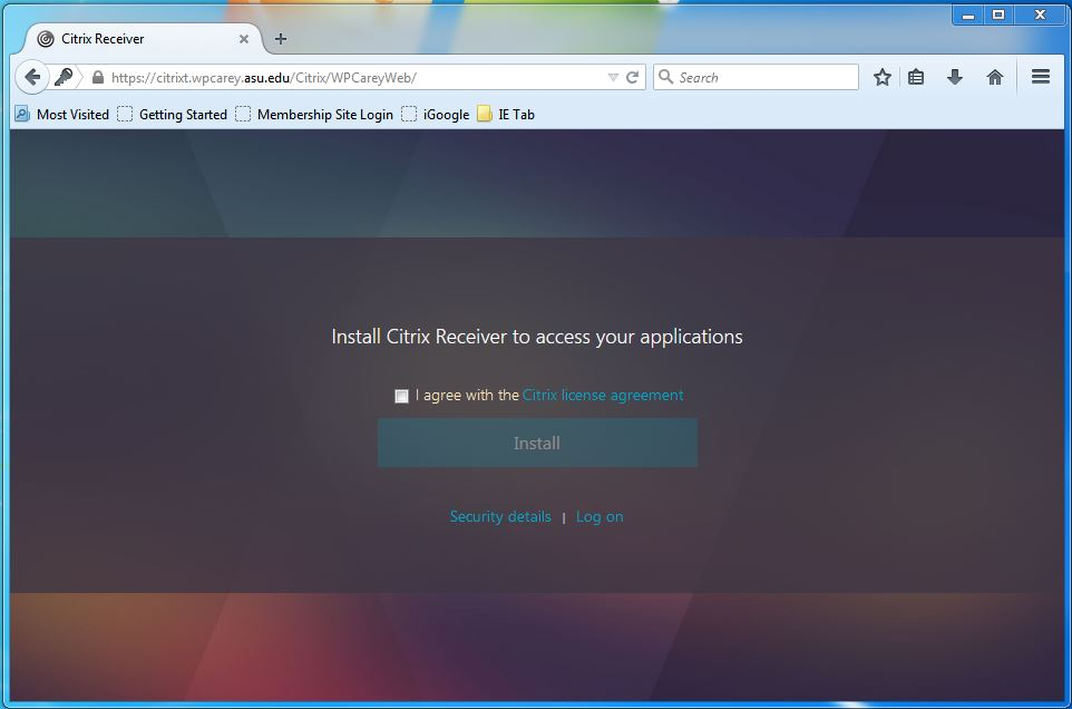 Installing Citrix Receiver on Windows – Knowledge Base